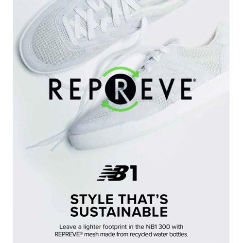 地球に優しい靴を選択する自由! ニューバランスNB1に新素材登場!