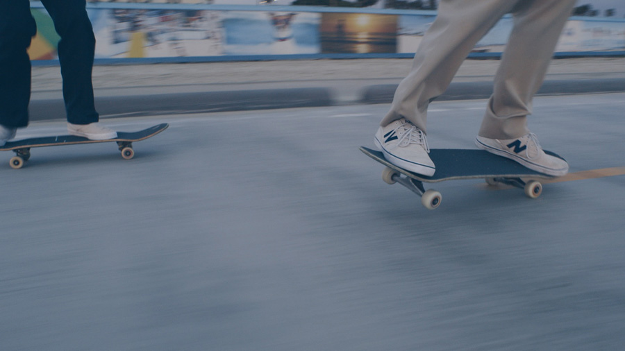 ニューバランスがカルフォルニアのカルチャーを組み込んでデザインした「SKATE STYLE(スケートスタイル)」
