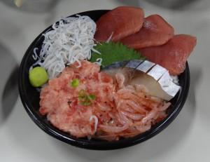 駿河湾まるごと五色丼