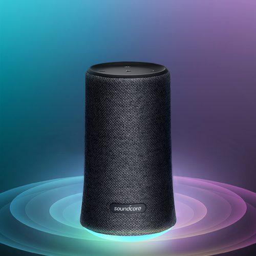 Soundcore Flareがユニーク! 360°サウンド&LEDライト付きBluetoothスピーカー