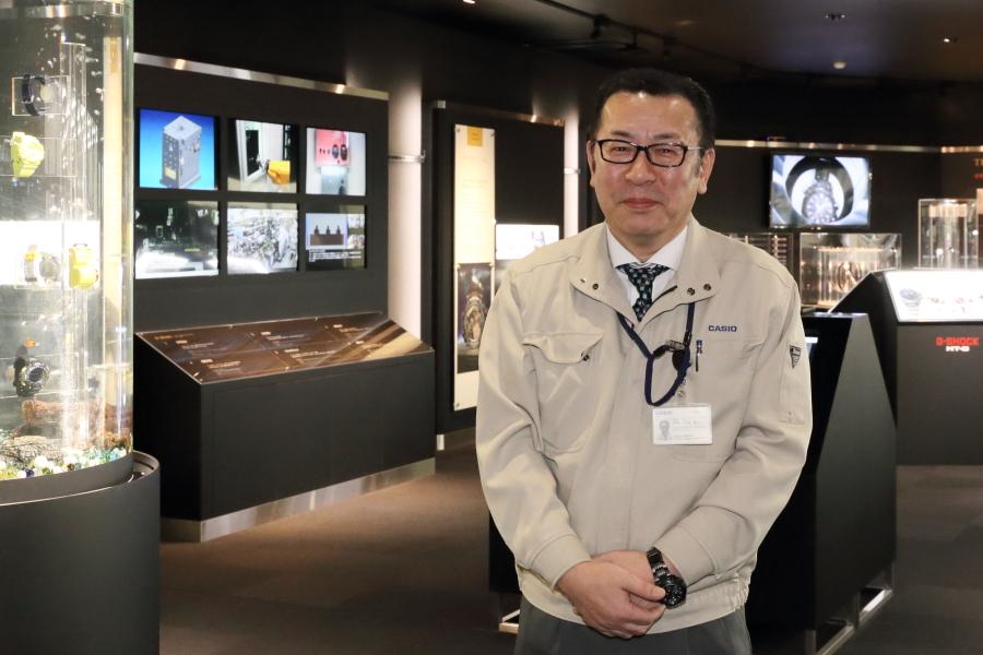 G-SHOCKを作っている山形カシオの土田啓一取締役