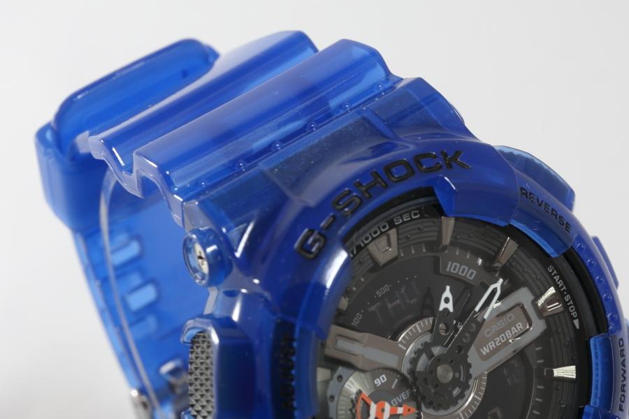 透明樹脂を使ったG-SHOCKのGA-110CR