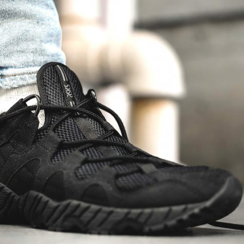 ASICS TIGER GEL-MAI TRIPLE BLACK -WORLDWIDE EXCLUSIVE-