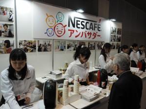 ネスカフェがネスカフェアンバサダーを使って無料でコーヒーやエスプレッソを配布。