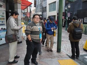 静岡だけでなく全国から集まったエージェント(Ingessのプレーヤーのこと)がイベントに参加。同じ陣営通しが協力しあい、敵陣営とバトルを繰り広げる。