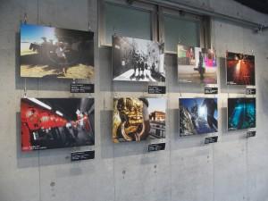 HUAWEI P9を使って撮影した写真の展示会も開催。