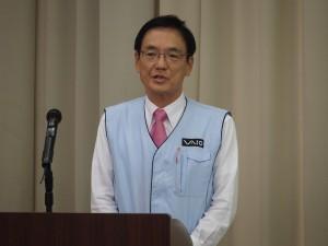 VAIO代表取締役社長 大田義実氏。