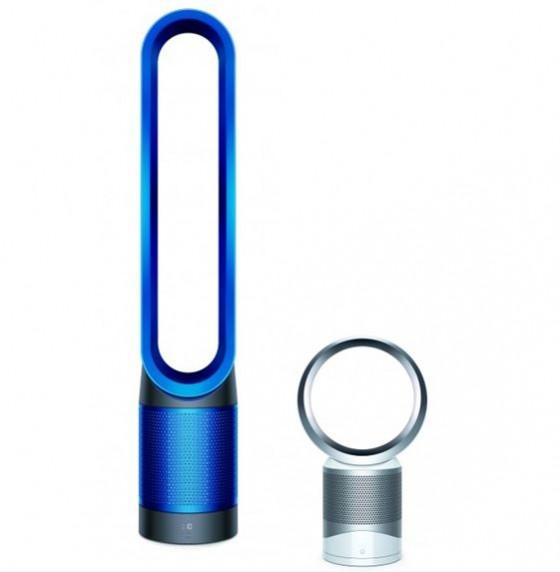 (左)Dyson Pure Cool Link 空気清浄機能付ファン(タワーファン)¥64,800 (右)Dyson Pure Cool Link 空気清浄機能付ファン(テーブルファン)¥49,800