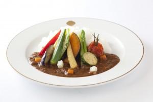 11種類の彩り野菜カリーライス