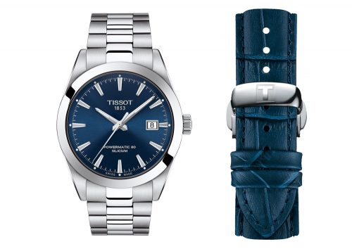 TISSOT GENTLEMAN AUTOMATIC GINZA LIMITED SET–STAINLESS STEEL CASE