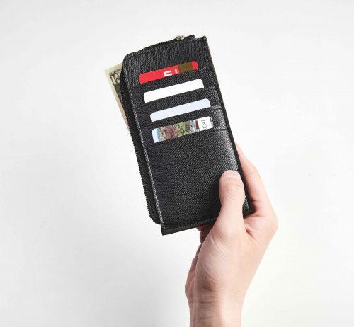 BEAMS 長財布と極薄財布