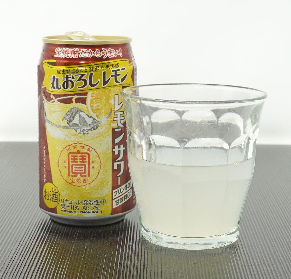 宝酒造「寶 極上レモンサワー 丸おろしレモン」