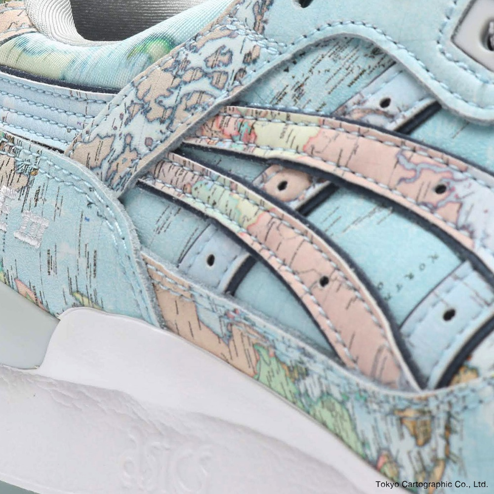 "ASICSTIGER GEL-LYTE III ""WORLD MAP"" for atmos"
