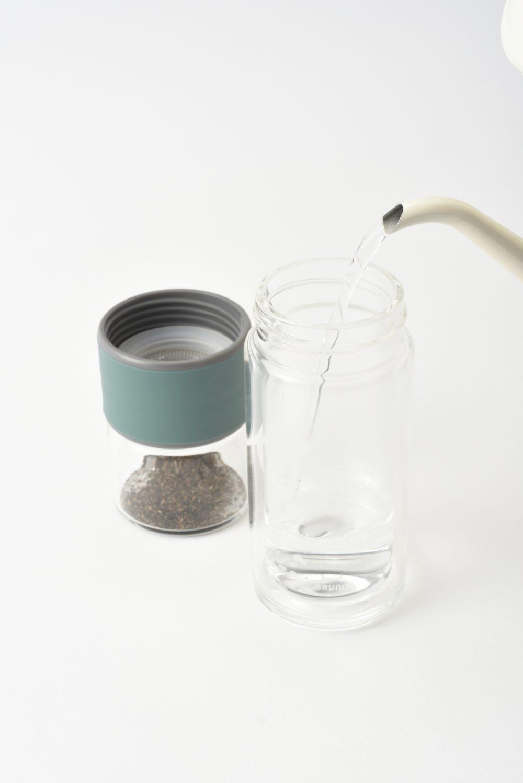 ブルーノ   ガラスティーボトル