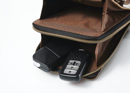 nano nanouniverse ナノユニバース monomax モノマックス お財布ショルダーバッグ 縦型ショルダーバッグ 整理バッグ