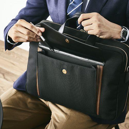 [PR]ポール・スミスのビジネス鞄はこう使いこなす!