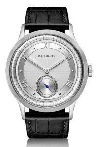 ダンヘンリー 腕時計1947 黒革バンド