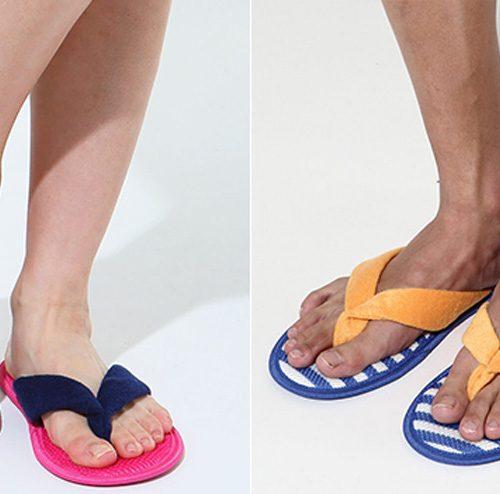 グンゼの洗えるスリッパが、夏の足下を快適にする!