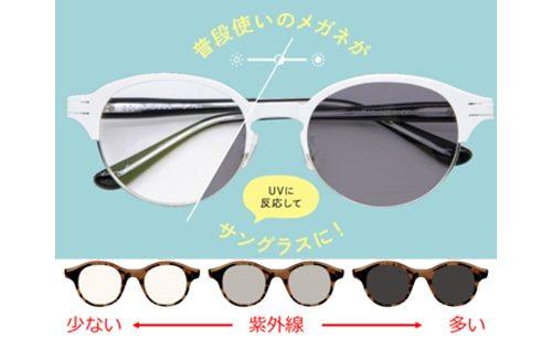 1本2役の次世代型メガネでブルーライト・紫外線対策にぬかりなし!