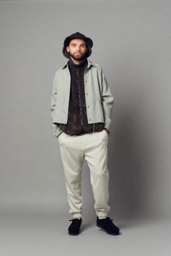 Short coach jacket