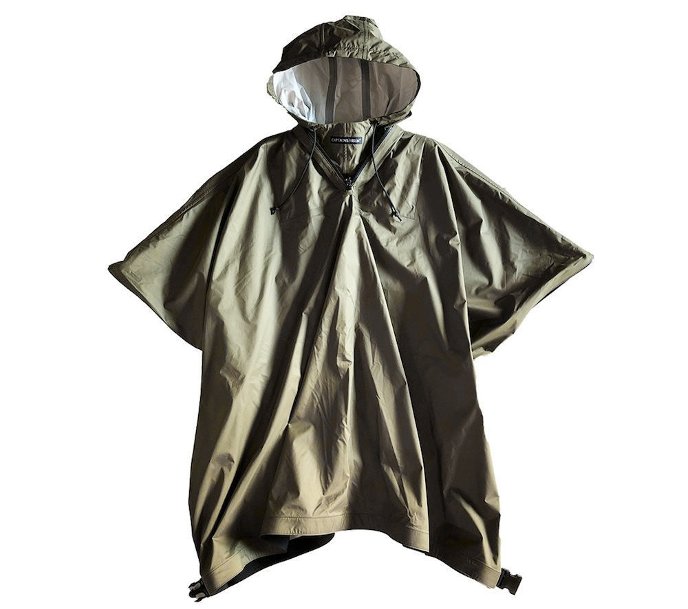 CAPTAINS HELM #WATER PROOF RAIN PONCHO