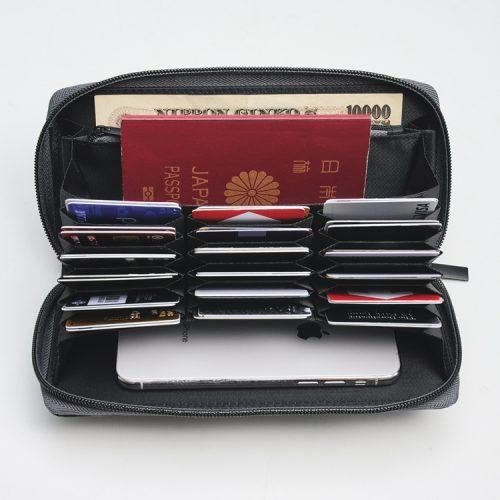 モノマックス monomax 長財布 カード収納 トラベル財布 nano nanouniverse ナノユニバース