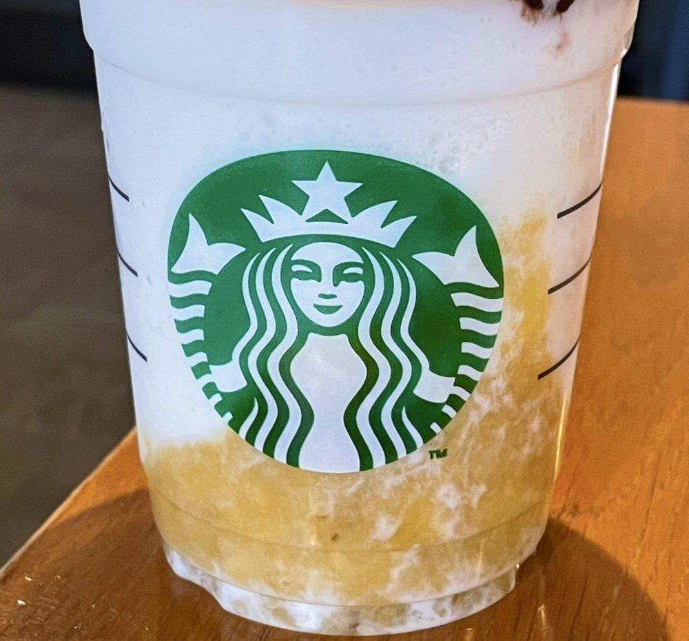 スターバックスコーヒー バナナンアーモンドミルク フラペチーノ