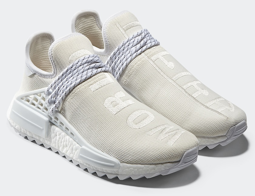 adidas Originals = Pharrell Williams Hu Holi Blank Canvas