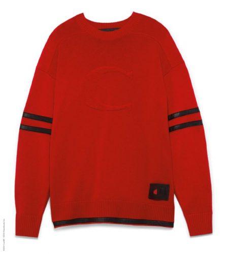 COACH × CHAMPION フットボール セーター