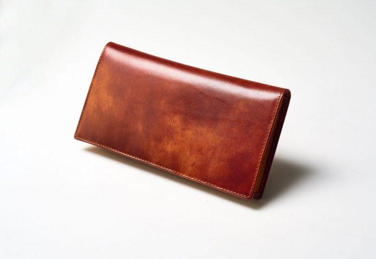 薄型長財布、革小物、スノビスト