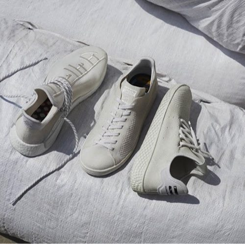 adidas Originals = Pharrell Williams Hu Holi Blank Canvas
