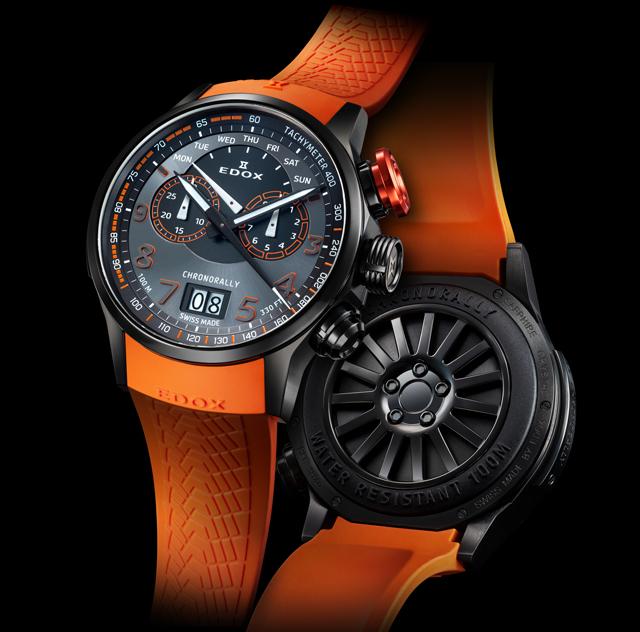 エドックス EDOX 腕時計 ラリークロス クオーツ FIA世界ラリークロス選手権