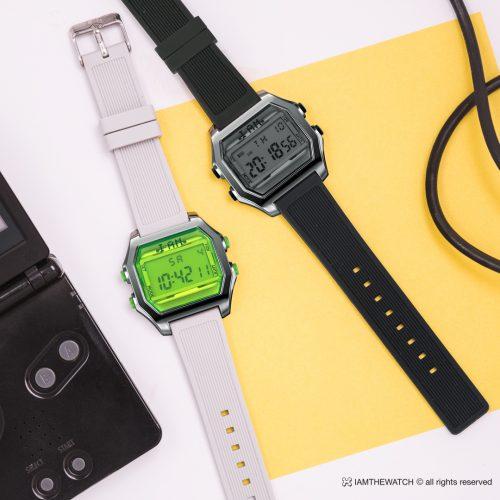 時計 デジタル カラフル