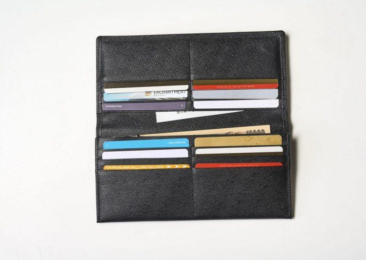薄型長財布、革小物、ソメスサドル