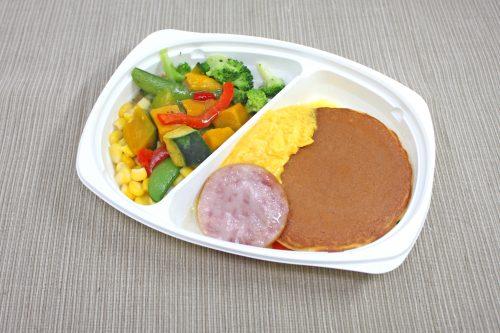 日本製粉 オーマイ よくばりプレートモーニング パンケーキ&ホットサラダ