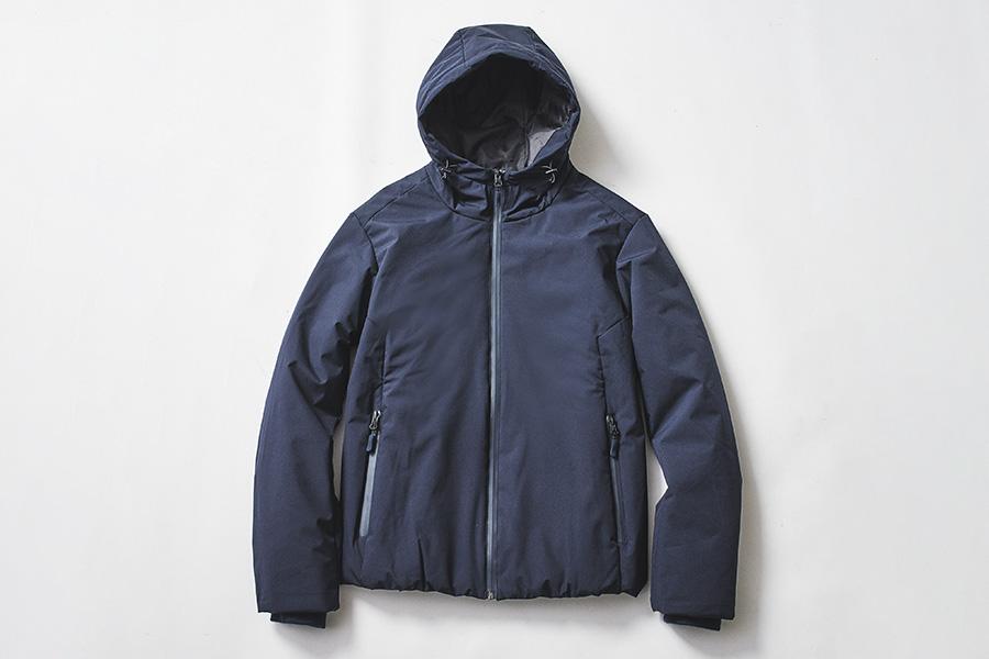 avail(アベイル)「TEX-TREME(テックストリーム)調温中綿ジャケット」ネイビーカラー