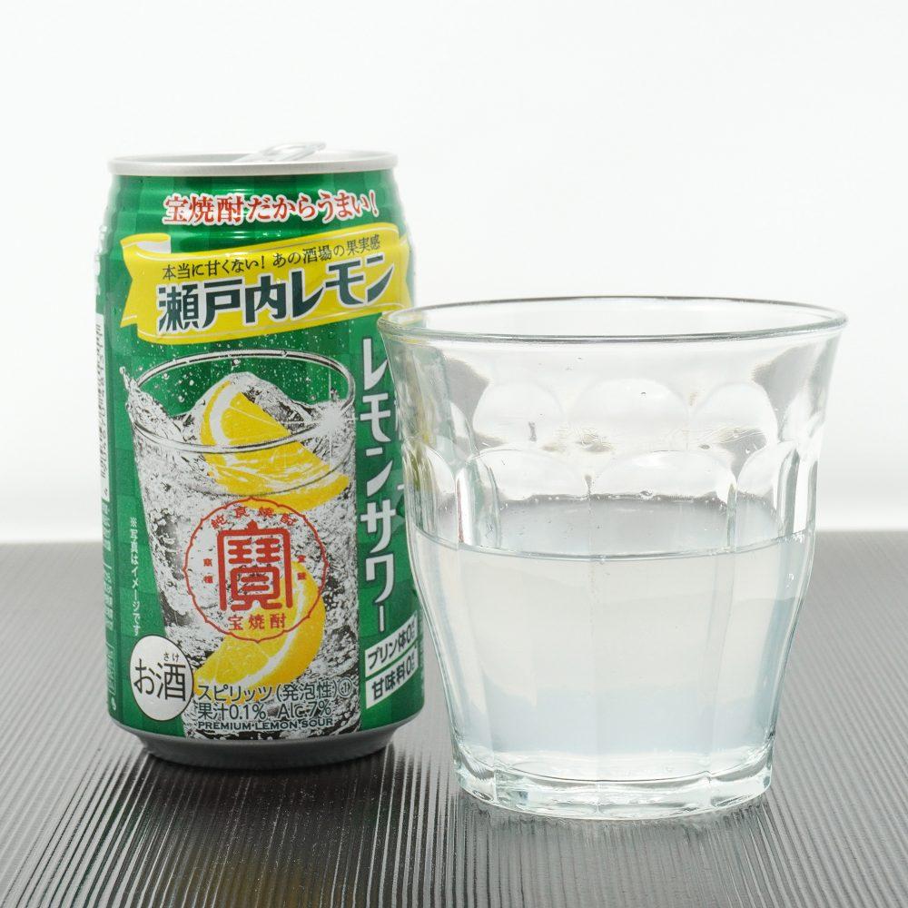 宝酒造「寶 極上レモンサワー 瀬戸内レモン」
