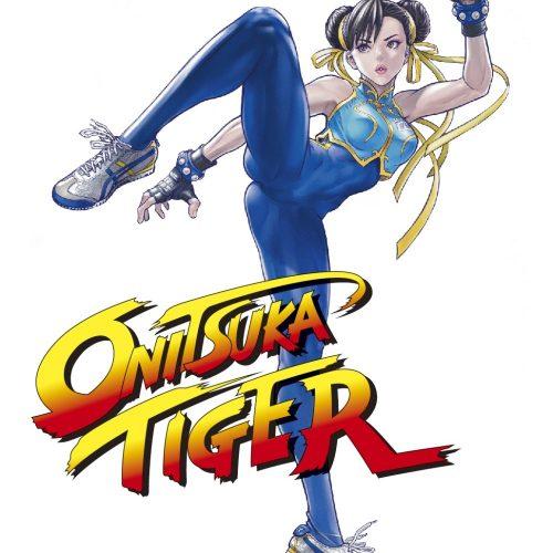 「ストリートファイター×Onitsuka Tiger」のコラボレーションを記念し、漫画家桂正和氏、他10名のアーティストによる春麗のビジュアル発表!