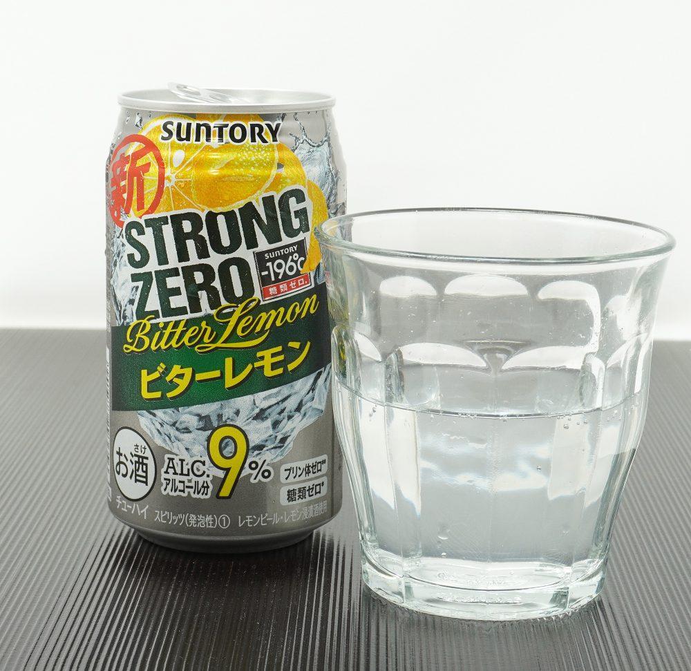 サントリー「-196℃ ストロングゼロ〈ビターレモン〉」