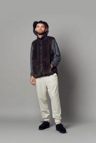 Military boa vest