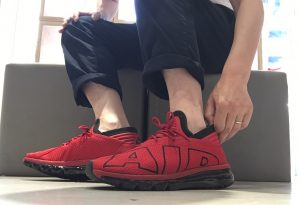 NIKE AIR MAX FLAIR GYM RED/WHITE-BLACK