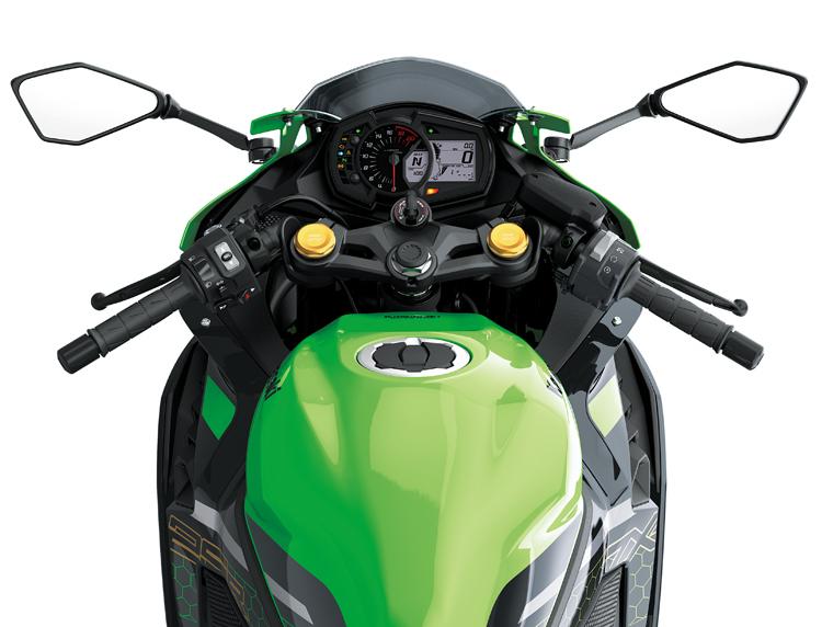 monomax モノマックス kawasaki カワサキ ninja ニンジャ ZX-25R KRTエディション