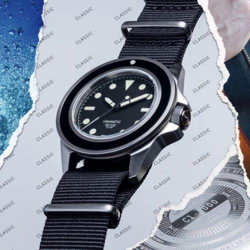 ウニマティック,腕時計,ダイバーズ