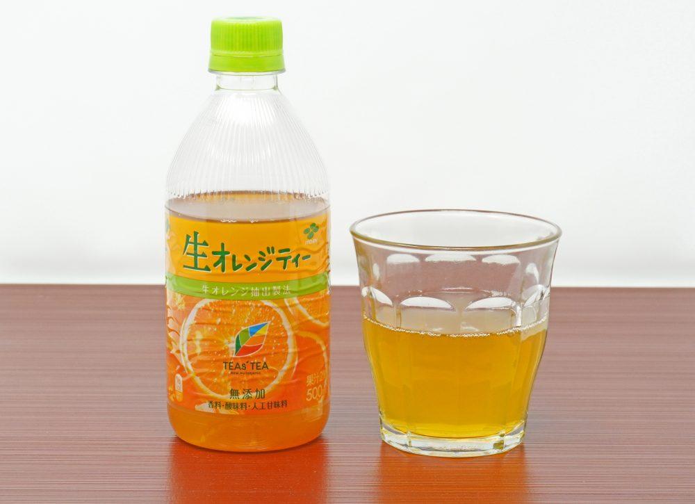 伊藤園 TEAs' TEA NEW AUTHENTIC 生オレンジティー