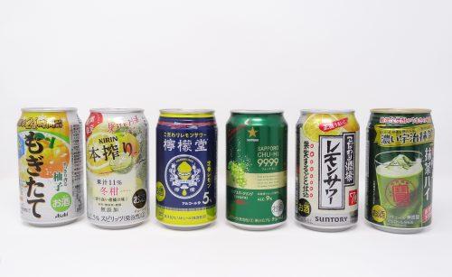 冬の缶チューハイ 美味しいのはどれだ!?