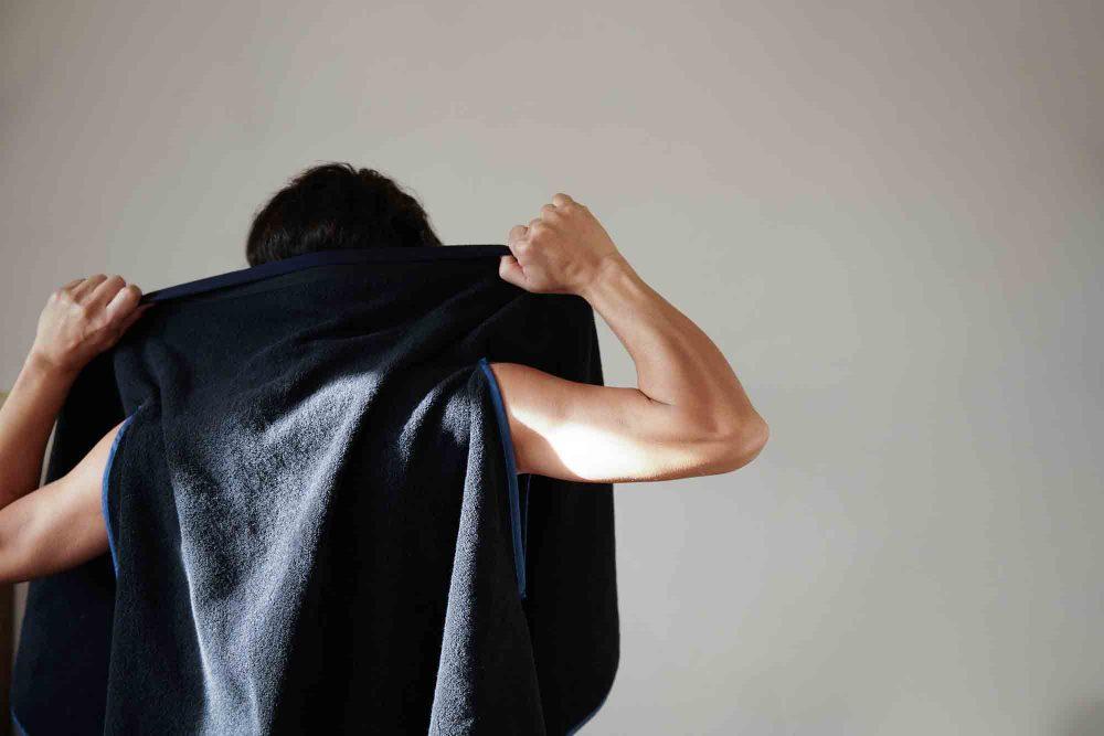 WARPのタオル