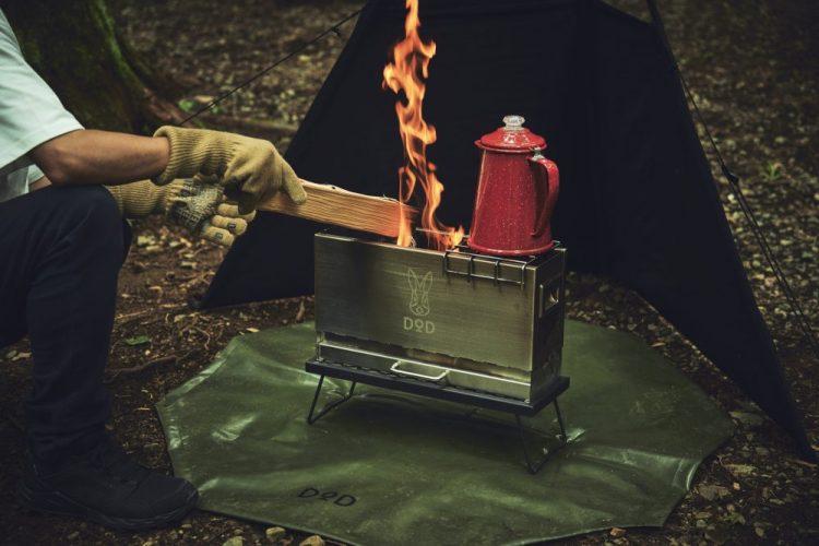 DOD,ソロキャン,焚き火台