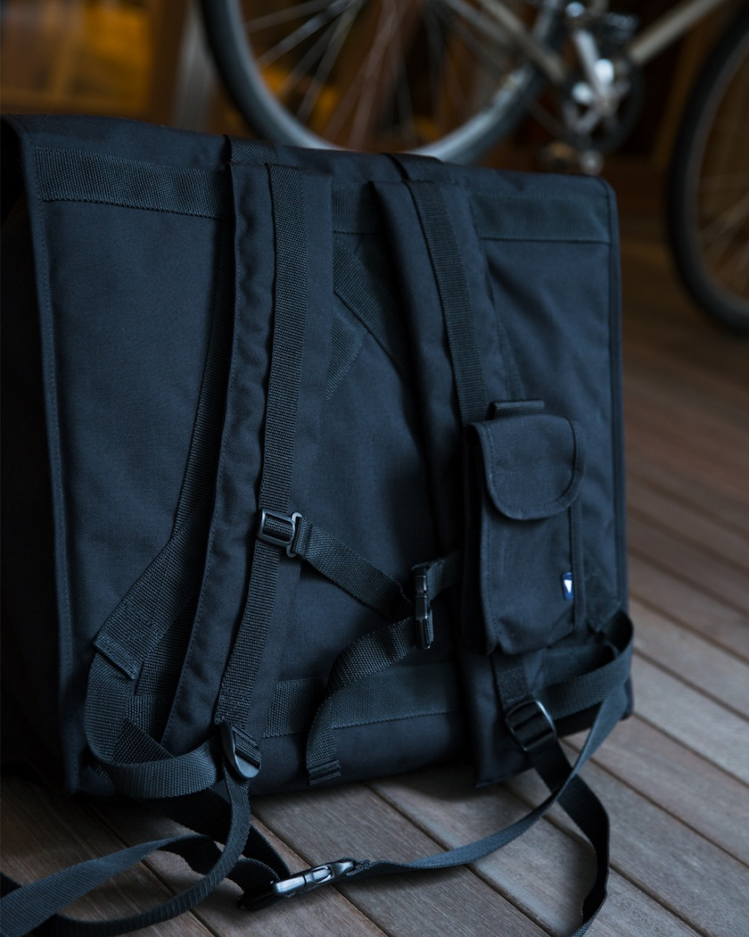 Pilgrim Surf+Supply Manhattan Portage x Engineered Garments for Pilgrim Surf+Supply Transit Tote Backpack