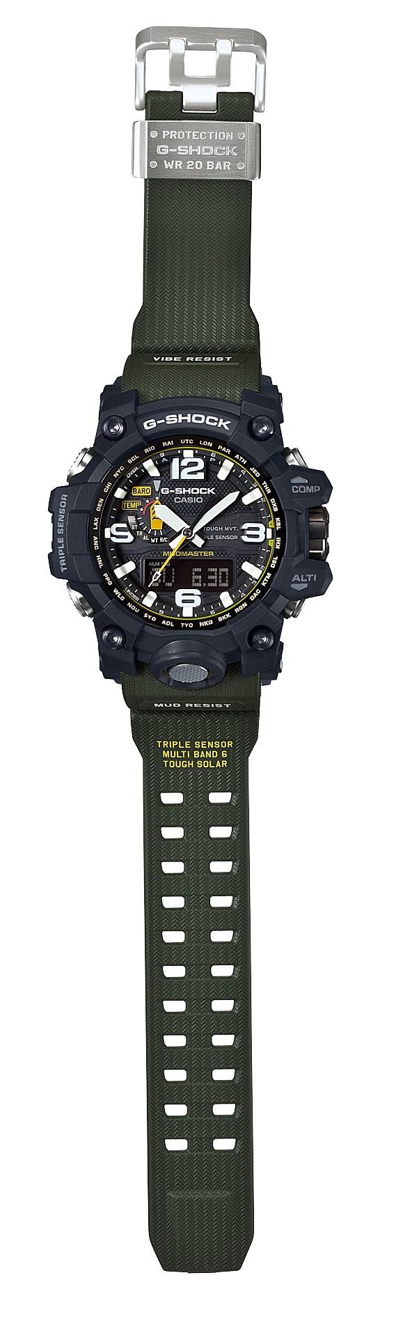GWG-1000-1A3 G-shock マスターオブG マッドマスター