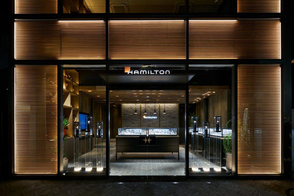 ハミルトン世界初の旗艦路面店が東京・キャットストリートにオープン ...